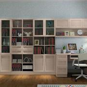 书房精致书柜欣赏