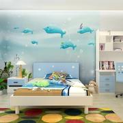 儿童房单人床设计
