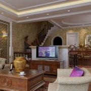 美式风格的三室两厅