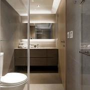 简洁现代卫生间