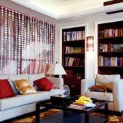 别墅客厅大气地毯展示