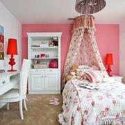 儿童房粉色时尚装潢