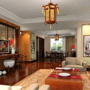 中式客厅吊灯欣赏