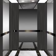 黑白系列的电梯