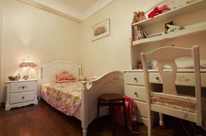 色彩恬淡的美式风格儿童房设计装修图片大全