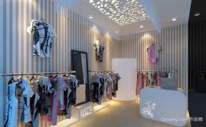70平米时尚精品现代服装店装修效果图