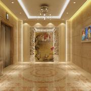 欧式奢华的电梯