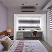 卧室紫色背景墙