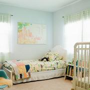 小清新的儿童房