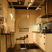 一字型的家居厨房