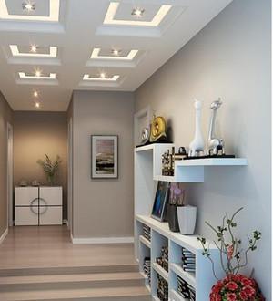 家居新颖的走廊展示