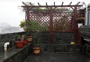 假日情意美式风格露台花园设计图片鉴赏