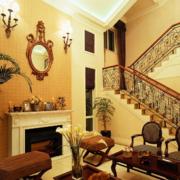 美式别墅楼梯