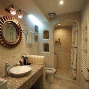 简欧风格的浴室
