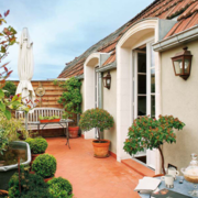别墅露台花园设计