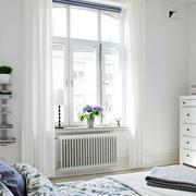田园风格的卧室飘窗