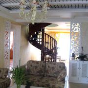 宜家的黑色楼梯
