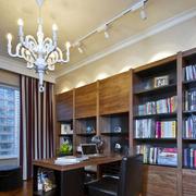 中式大户型的书房