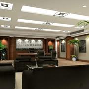 新中式风格的办公室