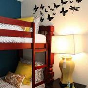 儿童房卧室床布置