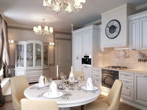 别墅欧式小餐厅展示