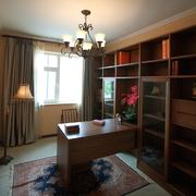 精致的实木书房
