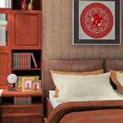 传统的卧室飘窗