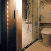 卫生间隔断门欣赏