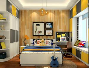 三室两厅靓丽的卧室