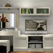 现代化的公寓卧室