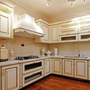 转角厨房橱柜图片