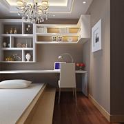 120平米卧室小书房欣赏