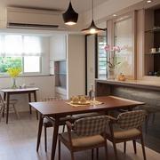 现代化的家居吧台
