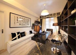 新中式书房字画装饰