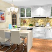 家居小厨房橱柜