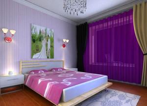 纯情蓝地中海风格房间装修图片