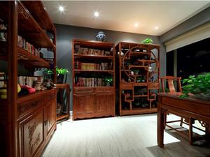 书房实木家具博古架