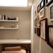 书房照片墙欣赏