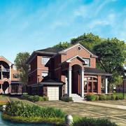 美式风格的别墅设计