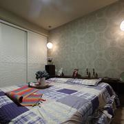 卧室素雅壁纸图片