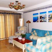地中海小客厅设计