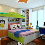 儿童房床头装饰