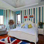 卧室条纹壁纸