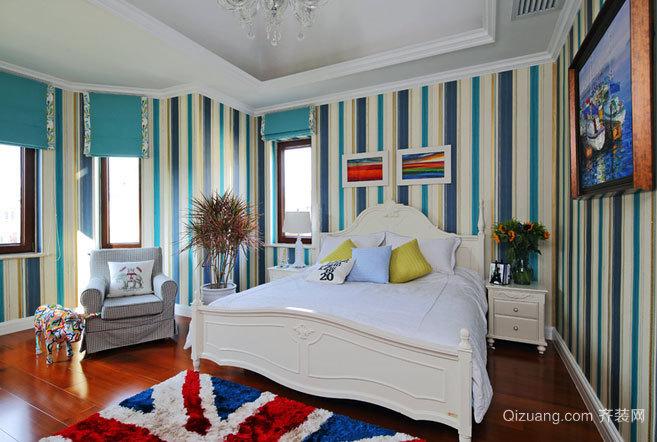 30平米都市风格简约时尚卧室装修效果图