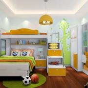 小清新风格的儿童房