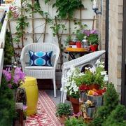 休闲的家居入户花园