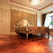 别墅简欧风格的卧室
