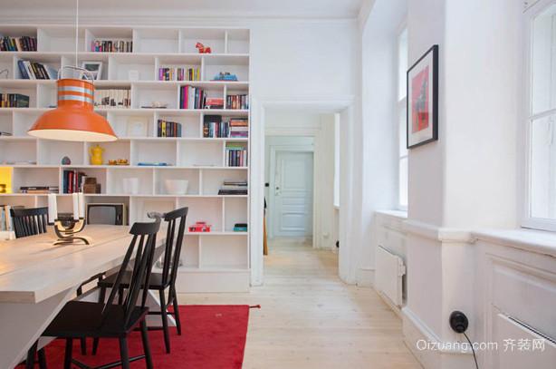 引领潮流的都市风格书房设计装修效果图大全