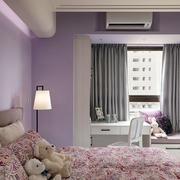 紫色女生公寓卧室