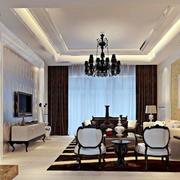 简欧式风格的客厅